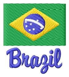 Brazil embroidery design
