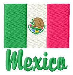 Mexico embroidery design