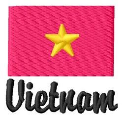 Vietnam embroidery design