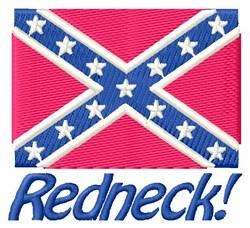 Redneck embroidery design