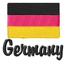 Germany embroidery design