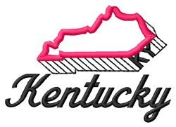 Kentucky embroidery design