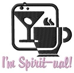 Im Spirit-ual embroidery design