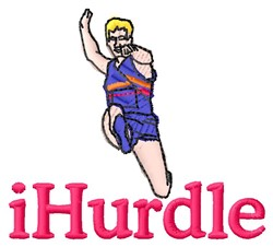 iHurdle embroidery design