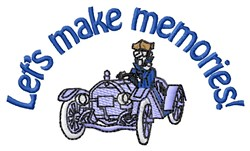 Make Memories embroidery design