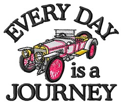 A Journey embroidery design