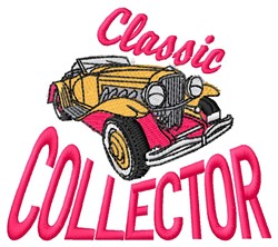 Classic Collector embroidery design