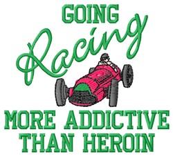Addicitve Racing embroidery design