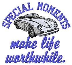 Special Moments embroidery design