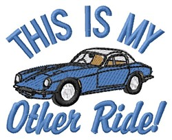 Other Ride embroidery design