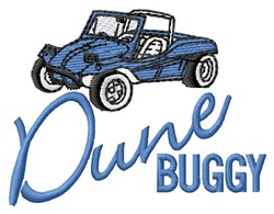 Dune Buggy embroidery design