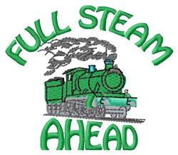 Full Steam embroidery design