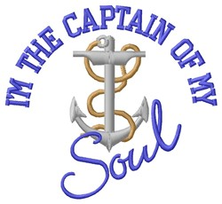 Captain Of Soul embroidery design