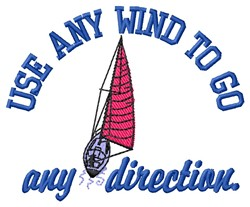 Any Wind embroidery design