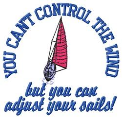 Adjust Sails embroidery design