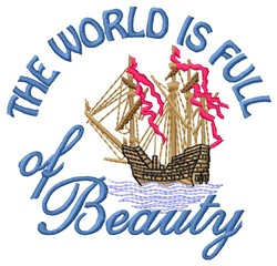 Full Of Beauty embroidery design