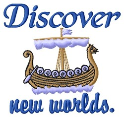New Worlds embroidery design