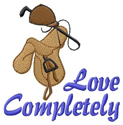 Love Completely embroidery design