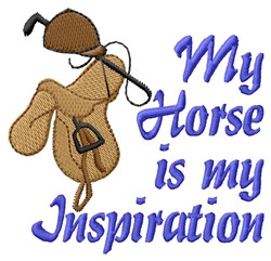 My Inspiration embroidery design