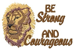 Be Strong embroidery design
