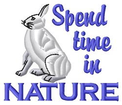 Nature embroidery design