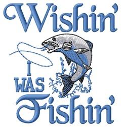 Wishin Fishin embroidery design