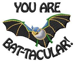 Bat-tacular embroidery design