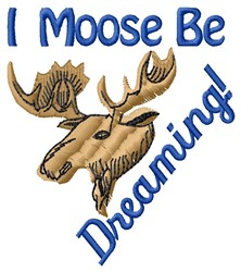 Be Dreaming embroidery design
