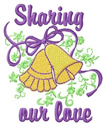 Sharing Love embroidery design