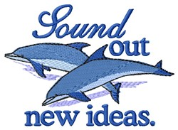 Sound Out embroidery design