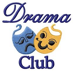 Drama Club embroidery design