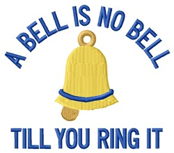 Ring It embroidery design