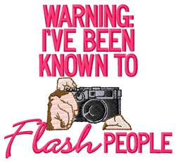 Flash People embroidery design