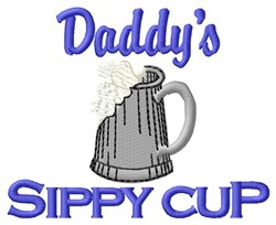 Sippy Cup embroidery design