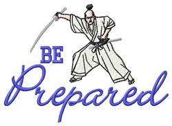 Be Prepared embroidery design