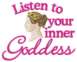 Inner Goddess embroidery design