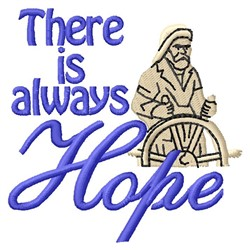 Always Hope embroidery design