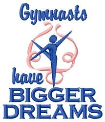 Gymnasts Dreams embroidery design