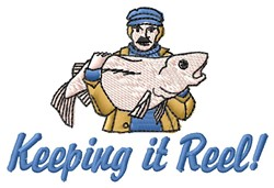 Keeping It Reel embroidery design
