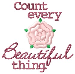 Beautiful Thing embroidery design