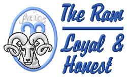Loyal & Honest embroidery design