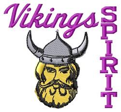 Vikings Spirit embroidery design