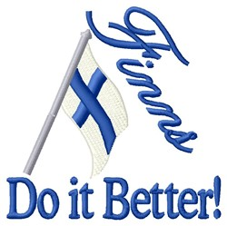 Do It Better embroidery design