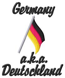 Deutschland embroidery design