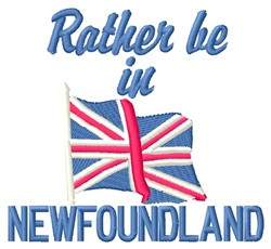 In Newfoundland embroidery design