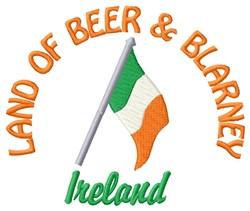 Beer & Blarney embroidery design
