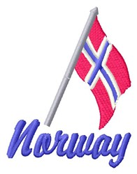 Norway embroidery design
