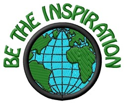 The Inspiration embroidery design