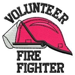 Fire Fighter embroidery design