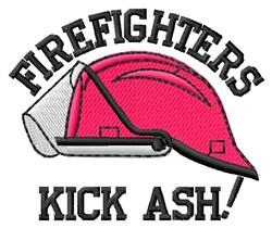 Kick Ash embroidery design